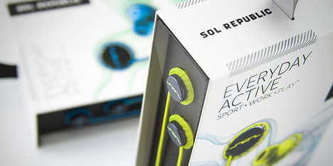 Streamlined Headphone Packaging - The Sol Republic Relays Has an Unexpectedly Elegant Design