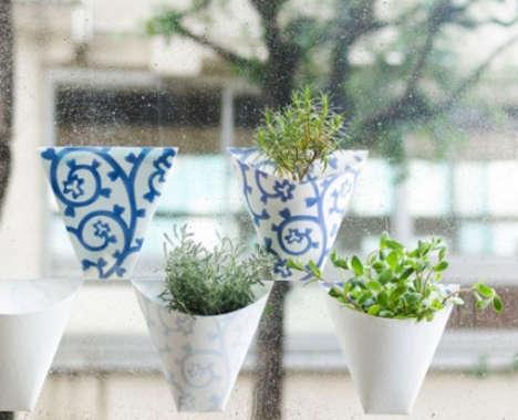 Stick-On Window Planters