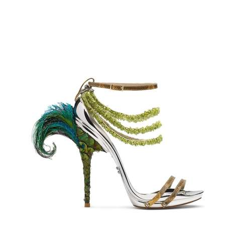 Artistic Stiletto Heels - Conspiracy's Dodici Collection Draws Inspiration from Nature