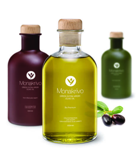 Chic Cooking Oil Branding - These Olive Oil Bottle Designs Feature a Clever Consumption Meter