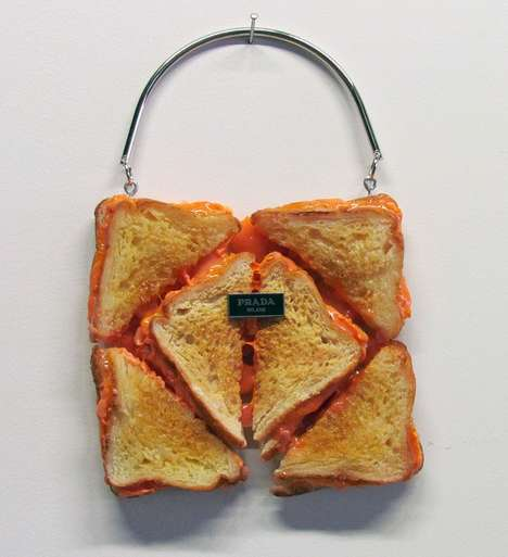 Designer Bread Bags - Artist Chloe Wise Has Created This Series of Edible Couture Bags
