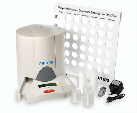 Medication-Minding Devices - The Philips Medication Dispenser System Monitors Pill Consumption