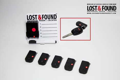 Household Object Locators - This Universal Pager Helps to Manage Frequently Lost and Found Items