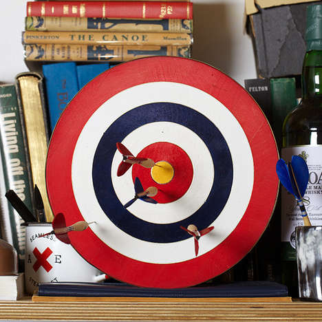 Sophisticated Dart Board Sets - Best Made Company's Game Piece is Handcrafted and Artisanal