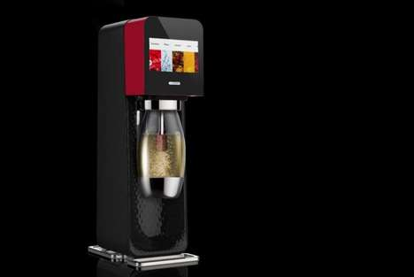 Bluetooth Soda Machines - SodaStream's Mix Soda Maker Lets You Remotely Prepare Drinks