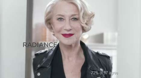 Youth-Capturing Commercials - The L'Oreal Age Perfect Campaign Stars Actress Helen Mirren