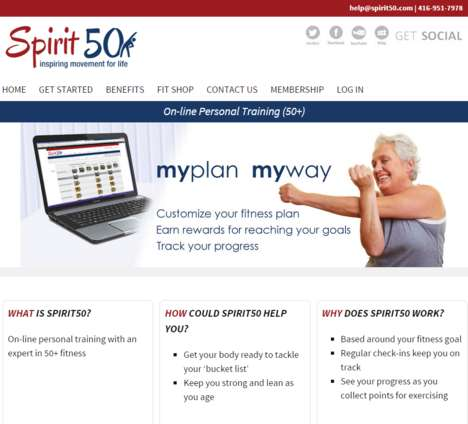Flexible Boomer Workouts - Spirit50 Addresses Old Age and Health Through Home Fitness Sessions