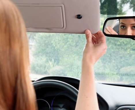 Selfie Camera-Equipped Vehicles