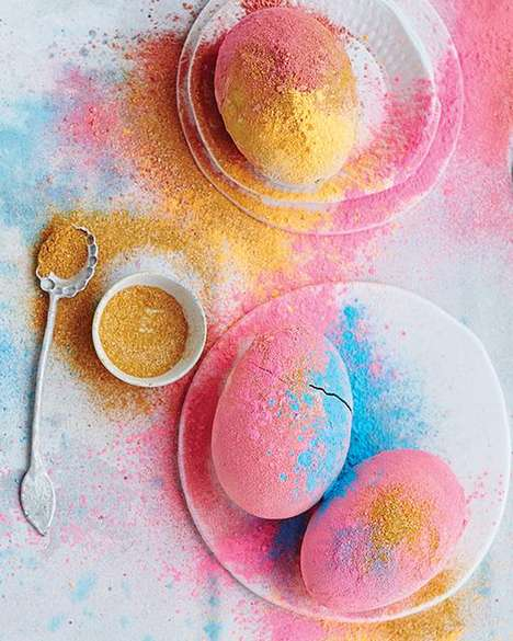Holi Easter Eggs - Sweet Paul's Colorful Easter Eggs Take Inspiration from a Hindu Festival