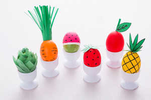 Brit + Co's DIY Easter Eggs Are Transformed to Look Like Fresh Produce