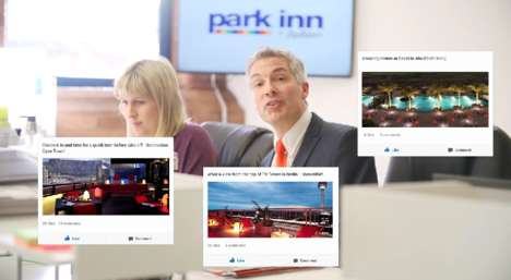 Virtual Vacation Pranks - The Park Inn by Radisson's E-Scapes Offers Social Media Vacations