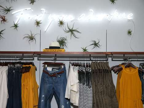 Aesthetic Retail Makeovers - A New Store in NYC Marks the Beginnings of Banana Republic's Rebrand