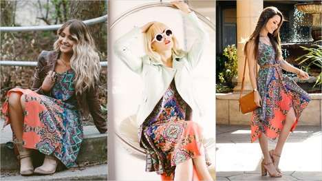 Social Stylemaker Campaigns - Lord & Taylor Had 50 Fashion Influencers on Instagram Model a Dress