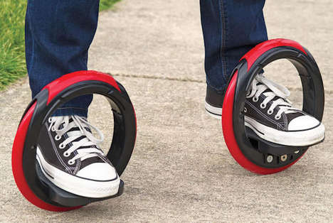 Futuristic Circular Skates - The Unattached Orbitwheel Platforms Let You Skateboard in a New Way