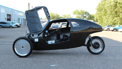 Super Speedy Bicycles - The Raht Racer Can Travel as Fast as a Car