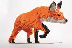 The Latest Work by LEGO Artist Sean Kenney is of the Natural World