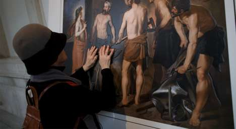 Blind-Guiding Museum Exhibitions - Touch the Prado Lets the Visually Impaired Feel Art Copies