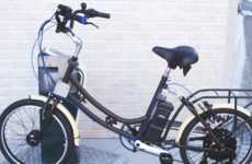 Wireless Recharging Electric Bikes - These E-Bikes Can Power Up at Unmanned Docking Stations