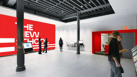 Designer College Rebrands - Parsons New School for Design Has a New Look Thanks to Pentagram