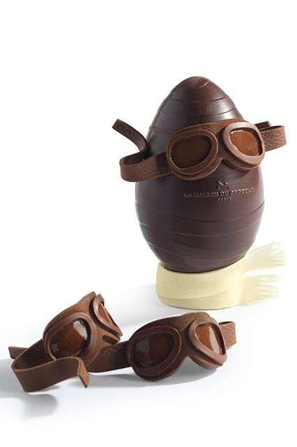 Aviator Easter Eggs - This Cool Easter Egg by La Maison Du Chocolat is Ready to Take Off in Flight