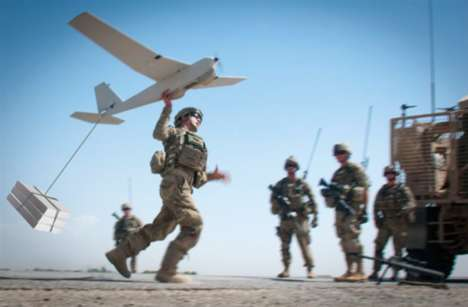 Military Pizza Drones - This US Army Drone Delivers 3D-Printed Pizzas to Men and Women in the Field