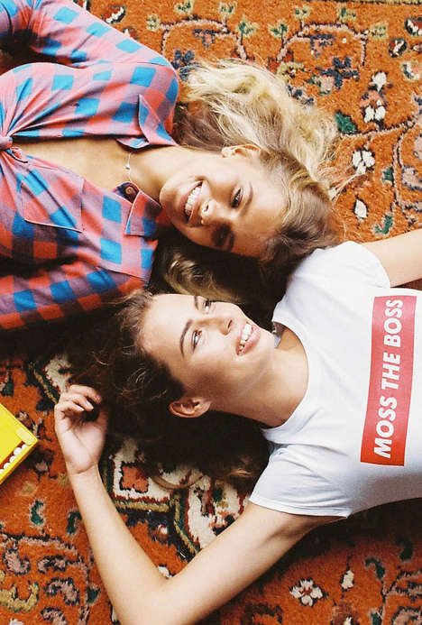 Nostalgic Camp Lookbooks - The Cabin Fever Lookbook Features a Playful Summer Vibe