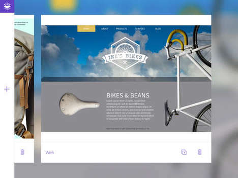 Layout Mockup Apps - Adobe Comp CC is a Powerful Mobile Tool for Print and Web Layout Ideation