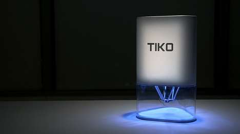 Unibody 3D Printers - The Tiko 3D Printer Has Prealigned Beams That Reduce the Need For Maintenance