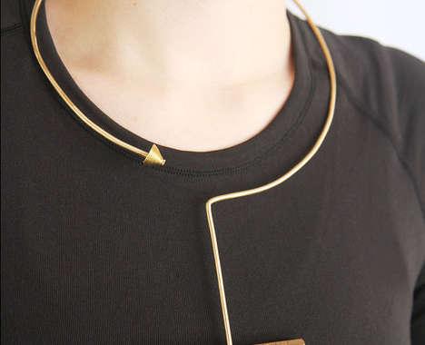 Architectural Statement Necklaces