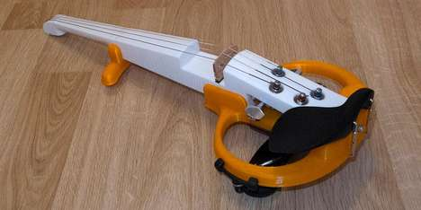 Custom Electric Violins - Stepan Ignatovich's ElViolin Takes Inspiration From a Fiddle