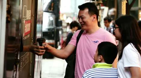 AIDS Awareness Coffee - AIDS Concern Hong Kong's Free Coffee Truck Addresses HIV Stigma