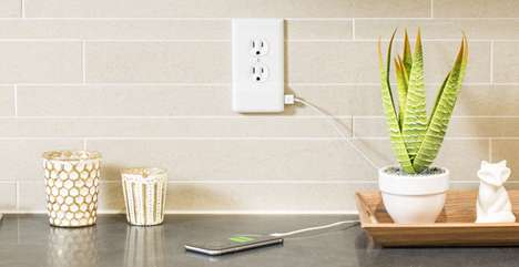 USB Port Outlet Covers - The SnapPower Charger is a Wall Plate Cover with USB Connectivity