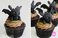 Adorable Animation Cupcakes