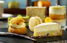 Branded Tea Services - Cafe 103's Vanilla Afternoon Tea Features Confections by Pierre Hermé Paris