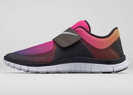 Simple Velcro Sneakers - The Nike Free Socfly is Stylishly Easy to Slip On