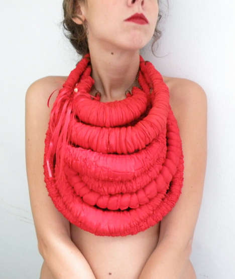 Exaggerated Rope Necklaces - Etsy's Juju Just Shop Features Jewelry That is Uniquely Bold