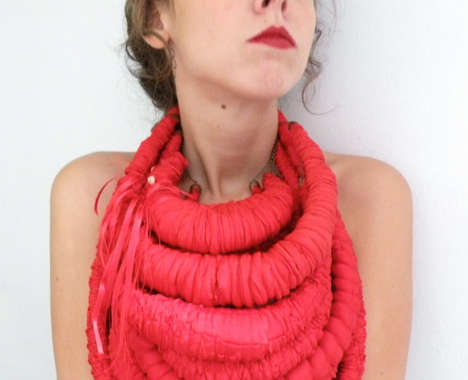 Exaggerated Rope Necklaces
