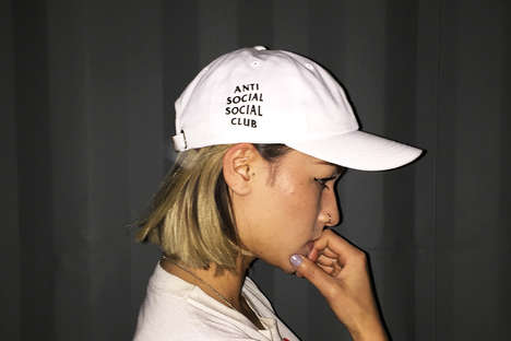 Anti-Social Capsule Collections - The Anti Social Social Club Collection Celebrates Introversion