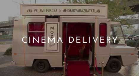 Roving Theater Trucks - This Portable Cinema Delivery Truck Took a Movie to the People