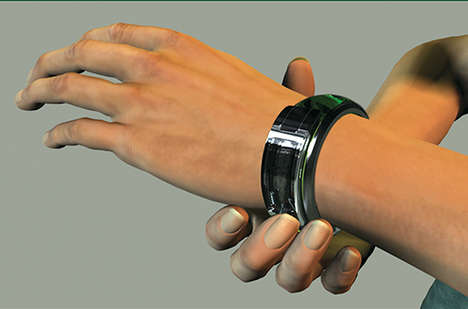 Medication Reminder Wristbands - Alzheimer's Watch Keeps Tabs on Pill Doses for Forgetful Patients