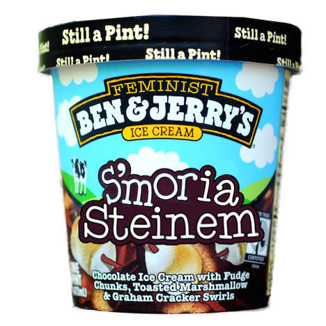 Feminist Ice Creams - Amanda McCall Creates Unique Ben & Jerry's Flavor Centering on Inspiring Women