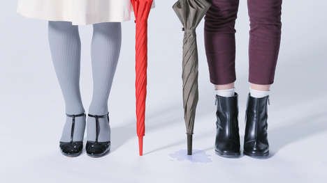 Truly Waterproof Umbrellas - The Unnurella Boasts Superior Water Resistance to Keep Everything Dry