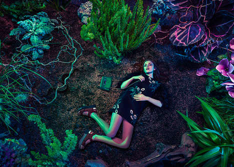 Richly Tropical Editorials - Paradise Lost by Aorta is Elegantly Exotic for Schon Magazine