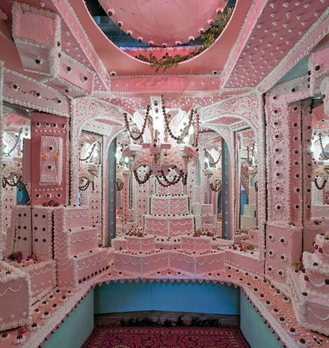 Sickenly Sweet Installations - Cakeland by Scott Hoven is Fit for Hansel and Gretel's Nemesis