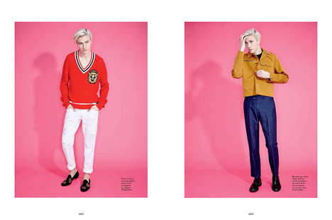 Preppy Punk Portraits - Lucky Blue Smith Stars in This Candid Image Series of L'Officiel Hommes