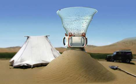 Desert Water Makers - This Innovative Concept Imagines Gathering H2O in the Driest Conditions