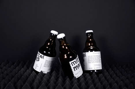 Medicine Bottle Beer - This Brand of German Brew Makes No Promises of Life-Changing Flavors