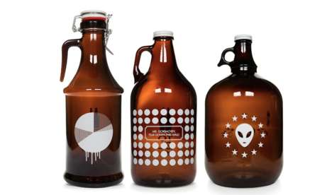 Experimental Beer Branding - Assorted Beer Packaging Asserts That Identity Design Inevitably Evolves