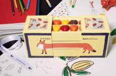 The Maison Pierre Marcolini x Kitsuné Features an Elongated Fox-Like Box