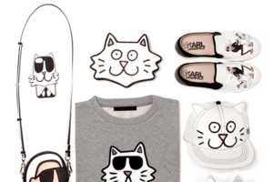 The Tiffany Cooper for Karl Lagerfeld Line Mixes Luxury Fashion with Cartoons